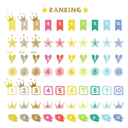 Ranking hand drawn numbers