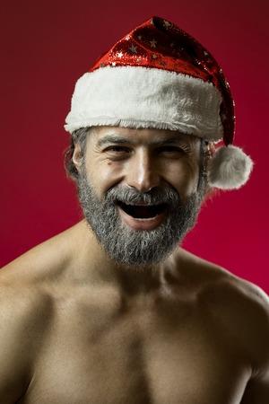 Tough santa claus