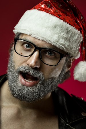 Santa claus portrait Stock Photo