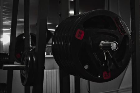 Heavy barbell with 320kg