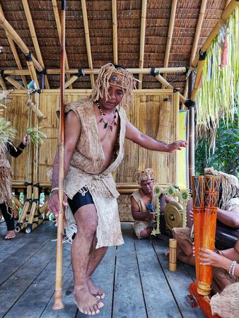 Indigenous tribe performing Sewang dance