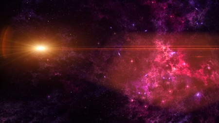 galaxy a system of millions or billions of stars, together with gas and dust, held together by gravitational attraction. 版權商用圖片