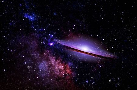 Galaxy a system of millions or billions of stars, together with gas and dust, held together by gravitational attraction. Imagens