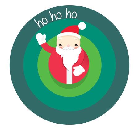 ho: santa christmas ho ho ho
