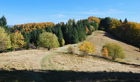 indian summer in Beskydy mountains photo