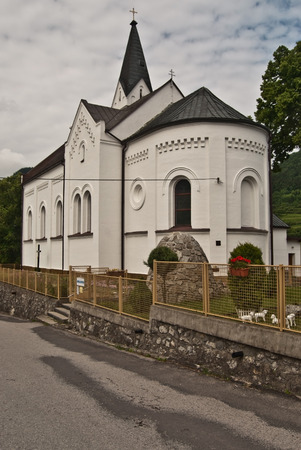 liptov: church in Valaska Dubova village