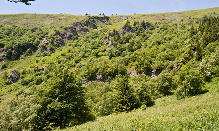 strictly protected Velka kotlina valley in Jeseniky mountains