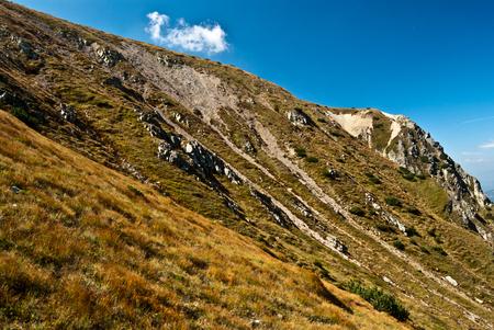 tatry: Zapadne Tatry mountains with clear sky Stock Photo