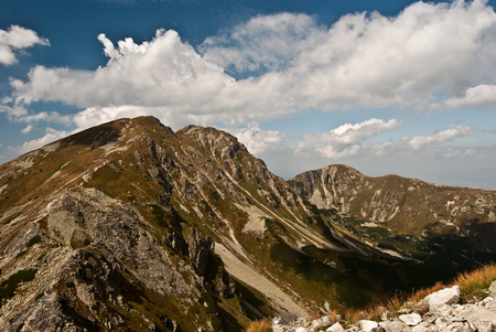 tatry: part of Tatry mountains called Rohace during nice summer day