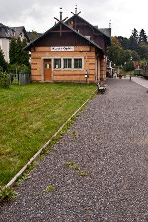 railway station: railway station in Kurort Oybin in Saxony