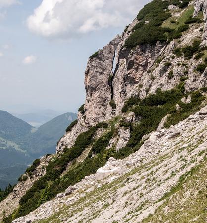 mala fatra: small natural arch on Velky Rozsutec hill in Mala Fatra mountains