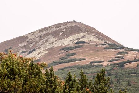 mala fatra: Maly Krivan hill in autumn Mala Fatra mountains in Slovakia