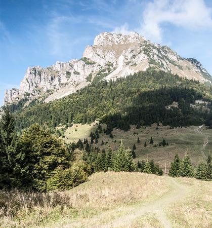 mala fatra: Velky Rozsutec hill in autumn Mala Fatra mountains in Slovakia