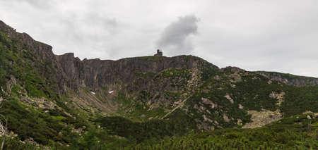 Wild Sniezne Kotly in Karkonosze mountains in Poland near borders with Czech republic