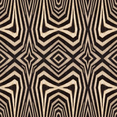 zebra stripes: Kaleidoscope abstract background of zebra stripes. Beautiful natural fur pattern.