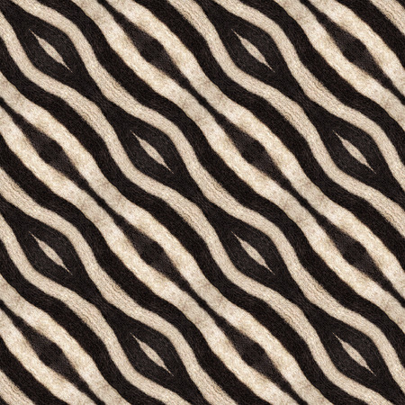 derived: Abstract illustration of background derived from a zebra pattern.