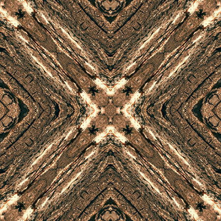 tree bark: Tree bark seamless abstract background in warm brown tone. Natural motif.