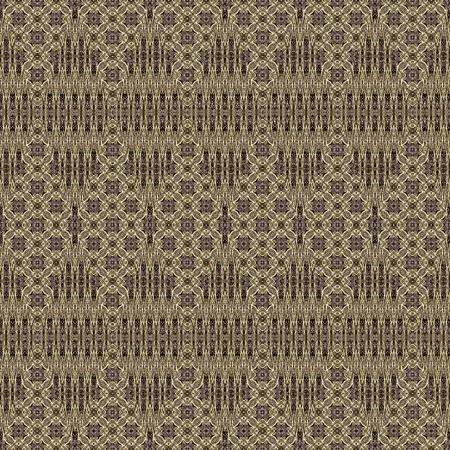 kaleidoscopic: Seamless kaleidoscopic wallpaper tiles. Stock Photo