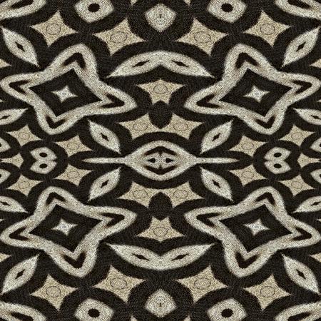 zebra stripes: Oriental seamless wallpaper tiles, zebra stripes pattern Stock Photo