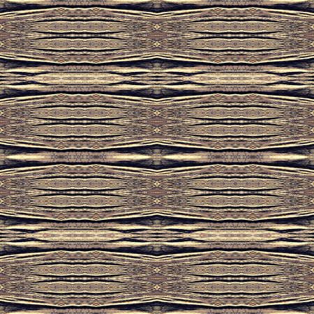 wooden surface: Kaleidoscope abstract background. Seamless pattern. Based on surface of old wooden beam.