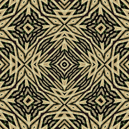 pales: Seamless background or texture. Interesting geometric shapes creating diverse visual impacts. For background, prints, wallpapers, cloth, carpets, rugs...  Based on wooden pales of fence.