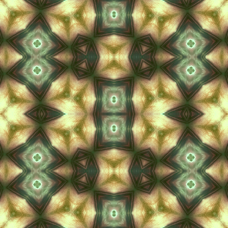 petal: Kaleidoscope abstract background. Seamless pattern. Rose flower petal.