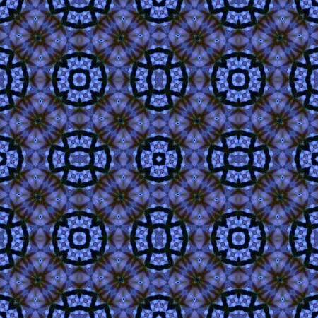 petal: Kaleidoscope abstract background. Seamless pattern. Rose flower petal.