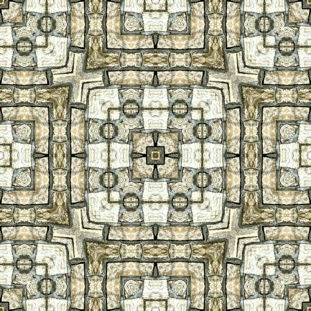 paving tiles: Stony seamless geometric background: pattern, texture, tiles, wallpaper, facade, pavement, paving.