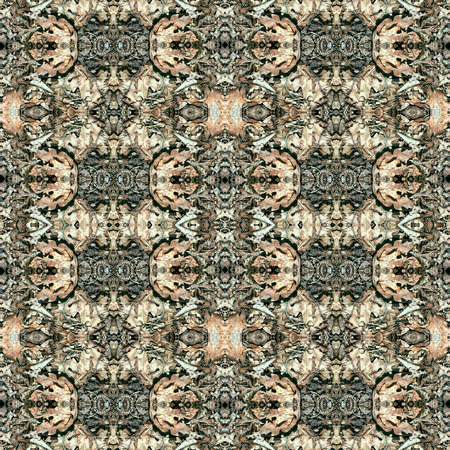 rich wallpaper: Rich royal seamless natural decoration or pattern. Made out of image of nature foliage in forest. For cloth, background, wallpaper, rug, carpet, design. Stock Photo