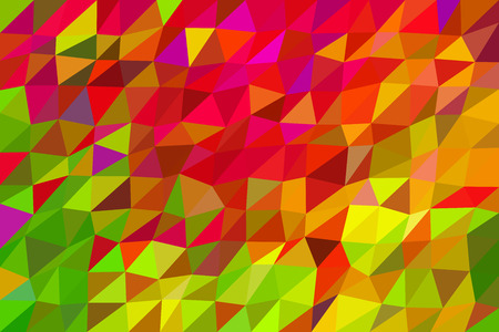 vivid colors: Autumn abstract . Low poly abstract background in autumn vivid colors. Illustration