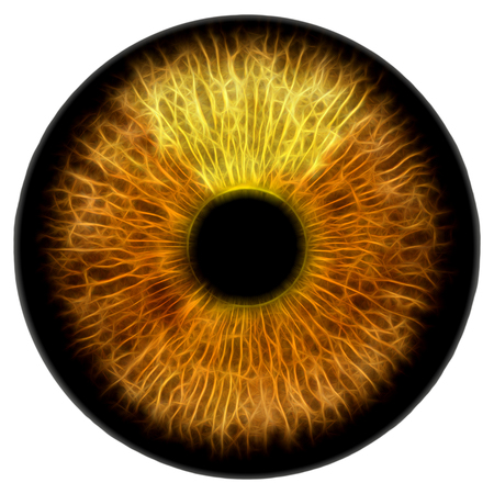 Eye, abstract digital illustration