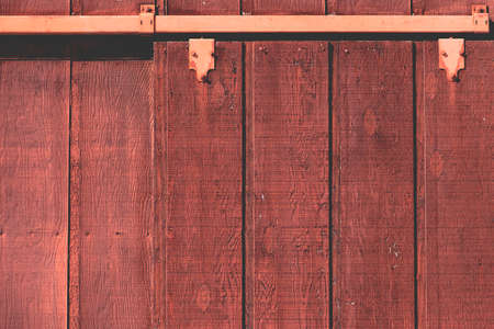old red barn: Old red, rustic, country barn wall Stock Photo