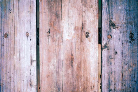 reclaimed: Macro view of aged, reclaimed wood plank background, shallow DOF