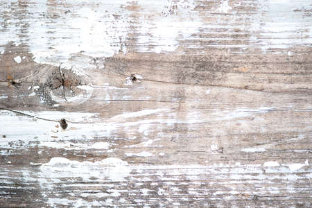 painted wood: Macro view of weathered wood painted white, shallow DOF