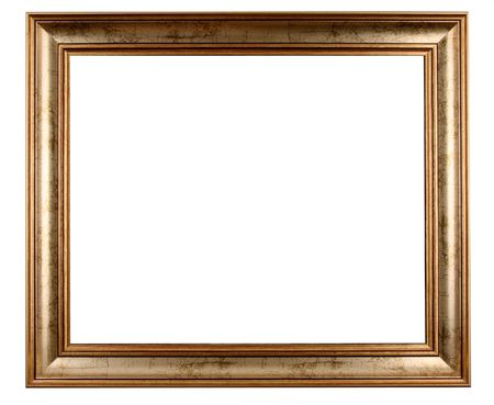 picture frame on wall: antique frame