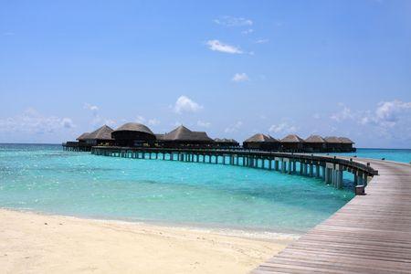 resort on Maldives photo