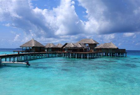 Maldives resort Stock Photo - 3492390