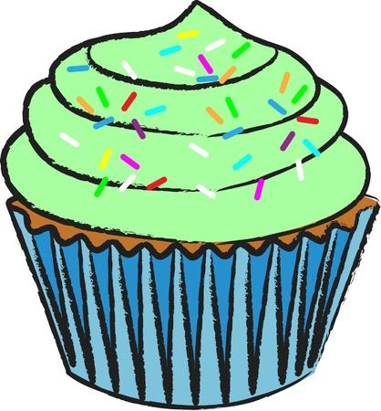 Cupcake_Lime Icing