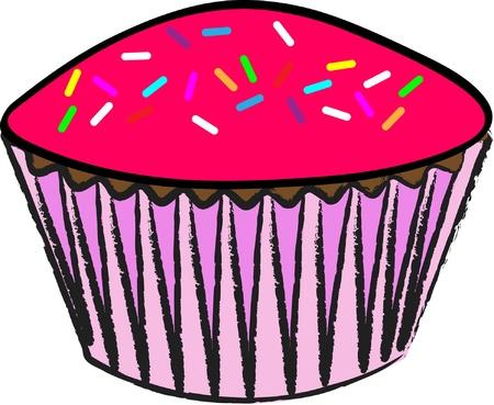 Cupcake_Pink Icing