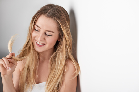 Young attractive smiling woman