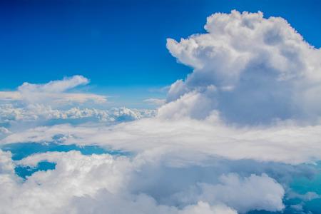 cloudscape: cloudscape background Stock Photo