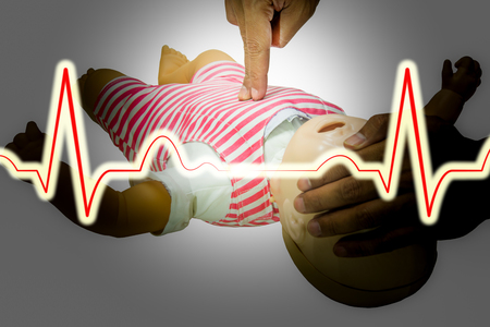 cpr baby  dark tone select focus pf finger and wave