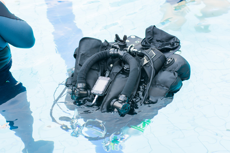 BCD or buoyancy control device equipment for diver