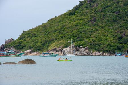 seascape natural view horizontal beach in thailand