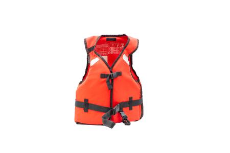 flotación del chaleco salvavidas auto rescate en el agua