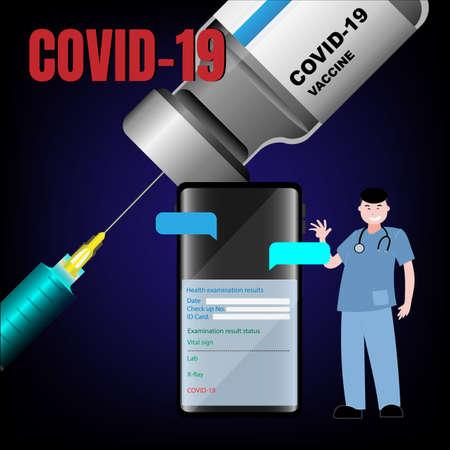vial vaccine for prevention dangerous virus covid19