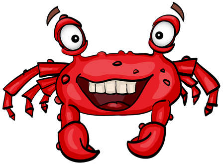 pimples: Red crab