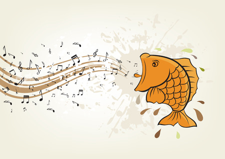 singing fish Stock Vector - 7477062