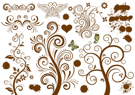 ornamental floral design Stock Vector - 7477061