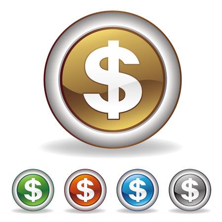 icono de dólar